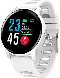 Rastreador de Ejercicios, impermeabile IP68 Reloj Pulsómetro Presión sanguínea Monitor de Sueño Oxígeno en la Sangre Podómetro Disparo Inteligente Reloj Inteligente