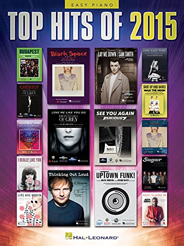 Top Hits of 2015: Easy Piano