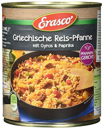 Erasco -Griechische Reis-Pfanne mit Gyros & Paprika, 800g