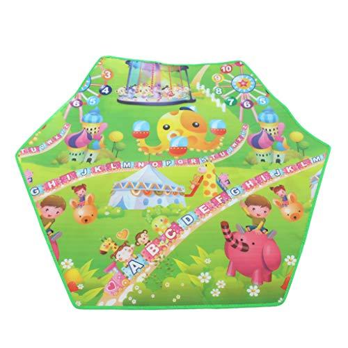 Générique Sharplace Tapis EVA Coussin Tapis de Sol pour Enfants Tapis de Jeux et d'Eveil Tente Maison 140 x 120cm