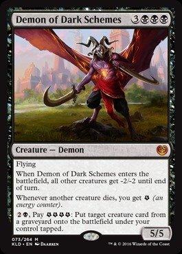 Magic The Gathering - Demon of Dark Schemes (073/264) - Kaladesh