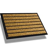 Best Door Mats - Extra Durable Striped Christmas Doormat Outdoor - Rubber Review
