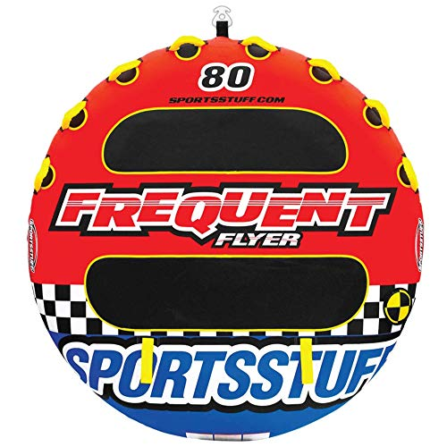 Sportsstuff Frequent Flyer | 1-3 Rider Towable Tube for Boating