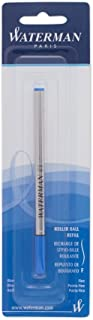 Waterman Rollerball Refill for Rollerball Pens, Fine point, Blue ink (540961)