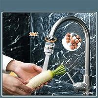 CSyueshsbd 調節可能な蛇口の退水の節水装置フィルターキッチン蛇口の噴霧器ヘッドアンチスプラッシュタップブースターシャワーヘッド (Color : Short Style)