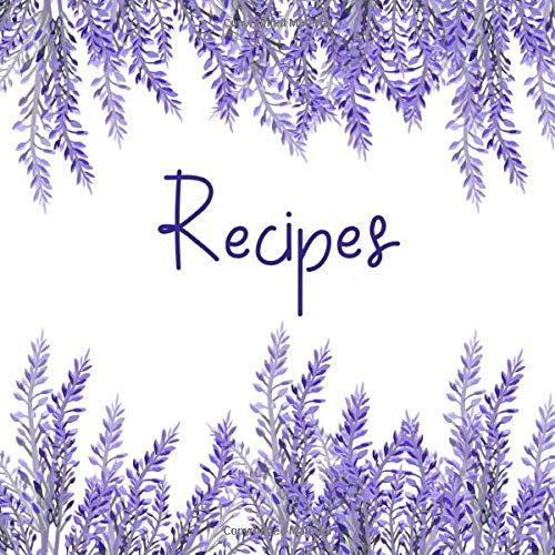 Recipes: Cookery journal