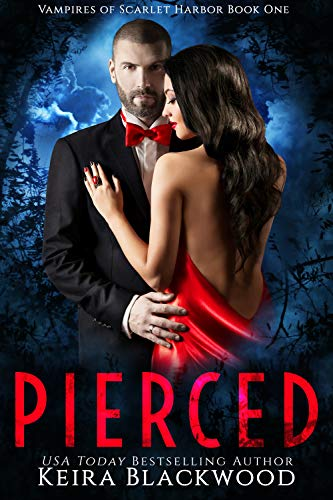 Pierced: A Wolf Shifter & Vampire Paranormal Romance (The Vampires of Scarlet Harbor Book 1)