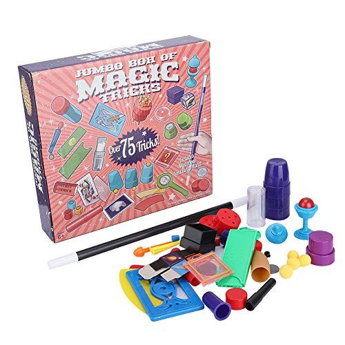 Fafeims Juego de Accesorios mágicos para niños Kit de Magia para Principiantes Juego de Trucos de Magia para Principiantes