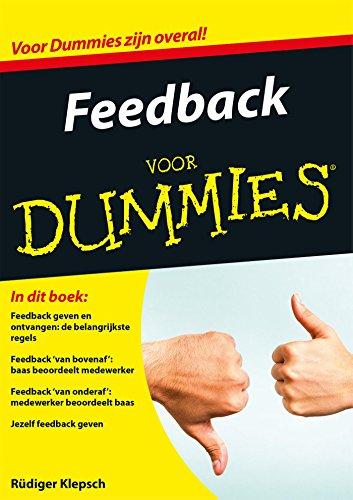 Feedback voor Dummies (Dutch Edition)