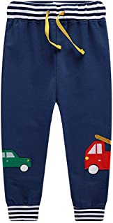 HILEELANG Toddler Girl Boy Sweat Shirts Pants Suit Fleece Hoodie Tops Jacket Coat Cotton Casual Kids Winter Warm Long Slee...