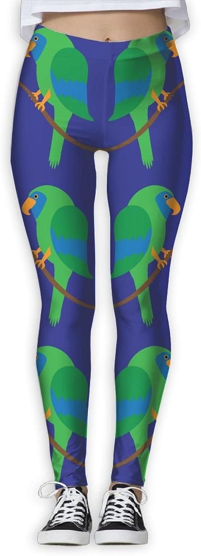 Green Parred Women's Power Flex Gym Yoga Pants Workout Tights Leggings Trouser