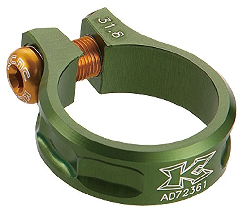 Kcnc collier de selle sc11 vert 31.8 mm 10 gr