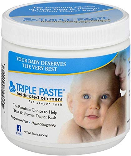 Triple Paste Medicated Ointment for Diaper Rash 16 oz Pack of 3 product image