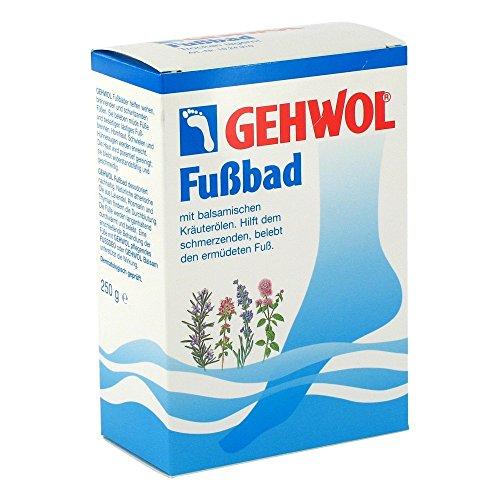 GEHWOL Fußbad mit balsamischen Kräuterölen belebendes Badekonzentrat, 250 g