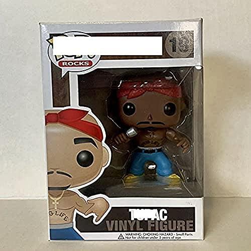 POP Games Pop Tupac Vinyl Collection Model Toys para niños regalo de cumpleaños
