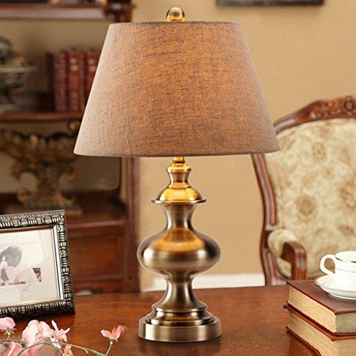 Bonne chose lampe de table Lampe en cuivre lampe de table européenne lampe de table rétro américaine de luxe lampe de cuisine