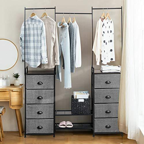 Fegan 8 Drawer Lingerie Chest, Overall: 75'' H x 57.5'' W x 11.5'' D, Dresser Mirror: No