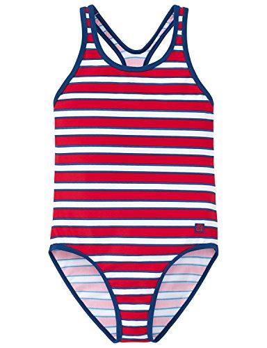 Schiesser Mädchen Badeanzug, Rot (Rot 500), 164