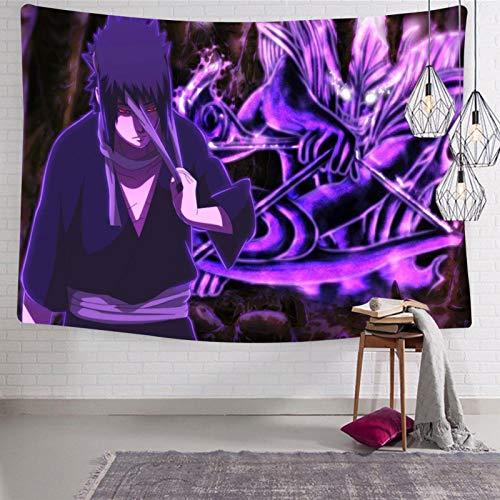 3354 Na-ru-to Sa-su-ke Tapiz para colgar en la pared, suave y divertido, tapices para habitación de cama 123 x 21 cm