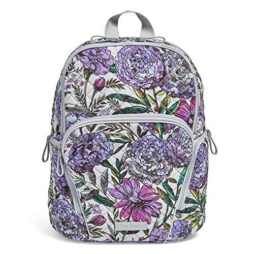 Vera Bradley Signature Cotton Hadley Backpack, Lavender Meadow