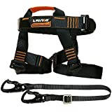 Fusion Climb Tactical Edition Adults Commercial Zip Line Kit Harness/Lanyard Bundle FTK-A-HL-01