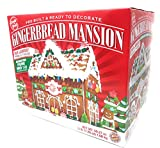 Create-A-Treat Pre-Built Mansion Gingerbread House Kit, Largest Kit, 59.27 ounces