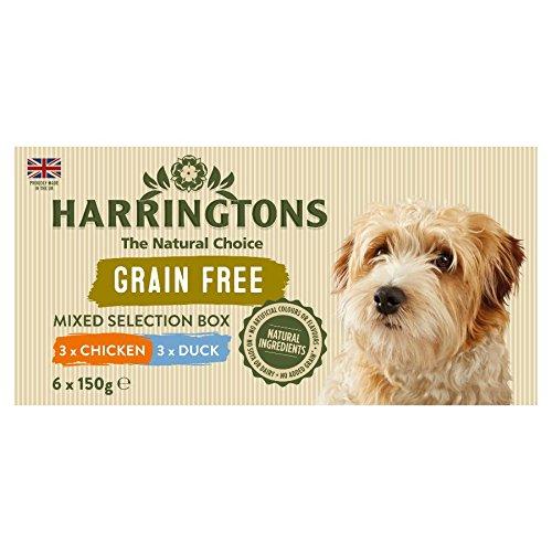 Harringtons vermischt Auswahl Box Hundefutter, 900 g