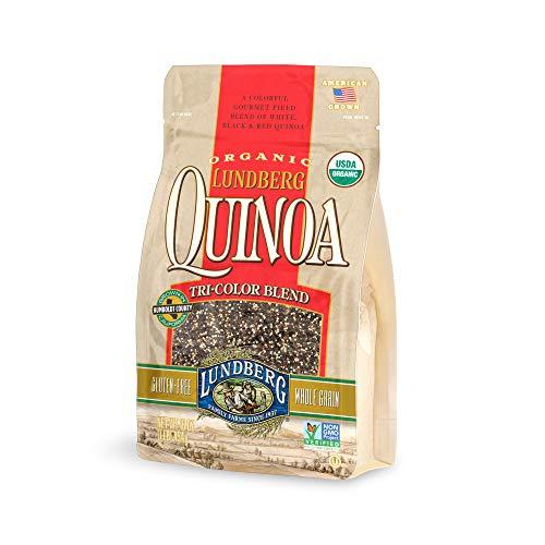 Lundberg Family Farms Organic Quinoa, Tri-Color Blend, 16 Ounce