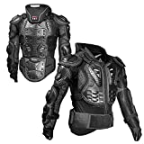 boxoon Full Body Armor Breathable Elastic Protective Zipper Safety Motorbike Armor Motorcycle Guard Jacket Cycling Racing