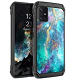 BENTOBEN Samsung Galaxy A51 4G Case, Glow in The Dark Heavy Duty Rugged Hybrid Non-Slip Hard PC Cover Soft TPU Bumper Protective Cases Cover for Samsung Galaxy A51 4G 6.5' ONLY, Nebula/Galaxy Design
