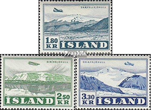 IJsland Mi.-Aantal.: 278-280 (compleet.Kwestie.) 1952 Vliegtuigen (Postzegels voor verzamelaars) luchtvaart