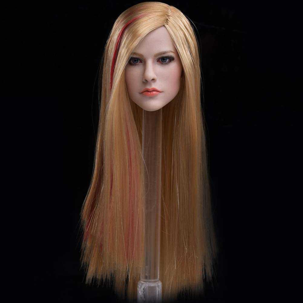 Head Sculpt 1 6 Scale Expression Beauty Max 69% OFF Model Lifelike with Selling rankings