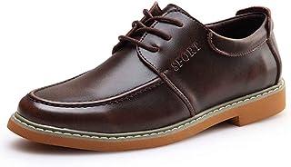 [Agogoo] 革靴 メ メンズシューズ オールシーズン ファッション カジュアルシューズ 耐磨耗性