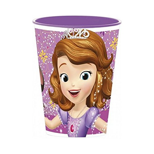 Gobelet Princesse Sofia Disney verre plastique enfant violet