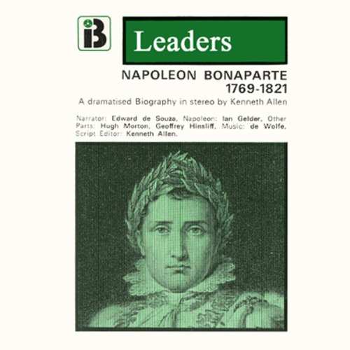 Napoleon Bonaparte audiobook cover art