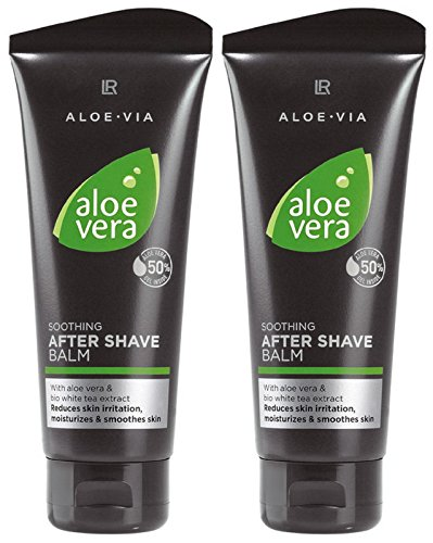 LR ALOE VIA Aloe Vera Men After Shave Balsam nach der Rasur (2x 100 ml)