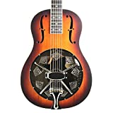 Royall '29 Triolian Style Resonator Guitar Vintage Sunburst Mahogany Body with Case