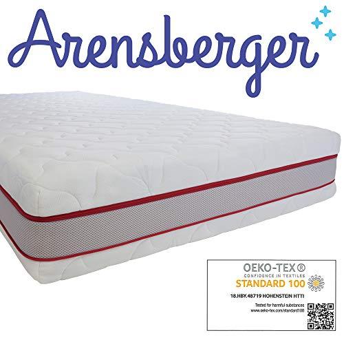 Arensberger ® SPRINGXX 7-Zonen Taschen-Federkern Matratze, 90 x 200 cm, Höhe 19cm