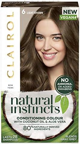 Clairol Natural Instincts Semi-Permanent 8A Medium Ash Blonde