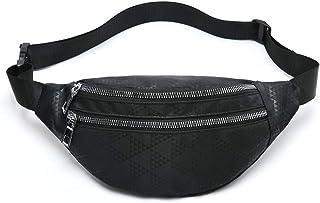 MOCE Waist Bag Fanny Pack for Men & Women Fashion Water Resistant Hip Bum Bag with Adjustable Belt for Travel Hiking Runni...
