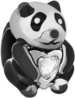 Cute Panda Charm For Bracelets