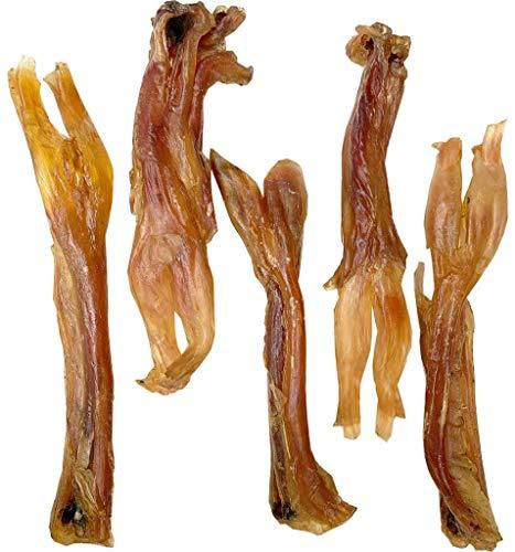 Jumbo Wishbone Beef Tendon Dog Chews (50Count (Bulk)) - 100 % Pure Beef Dog Treats - Beef Bones for Dogs - Tendon Dog Chews (Jumbo, 50 Count (Bulk))