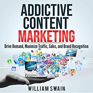 Addictive Content Marketing audiobook cover art