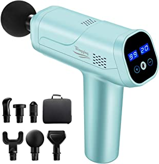 Electric Handheld Massagers Massage Gun Percussion Muscle Massager,Electric Handheld Massage Device Pain Relief,Powerful D...
