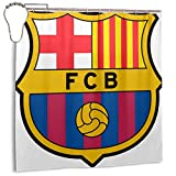 Barca Surabaya Indonesia Feb 2018 Barcelona FC Professional Football Club con sede en Cataluña España Marca, Decoración del hogar Cortina de Ducha 72inX72in