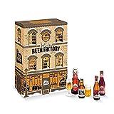 Winter Beer Factory - Calendrier de l'Avent/Coffret Bière 18 bières craft et 6 verres