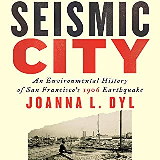 Seismic City audiobook cover art