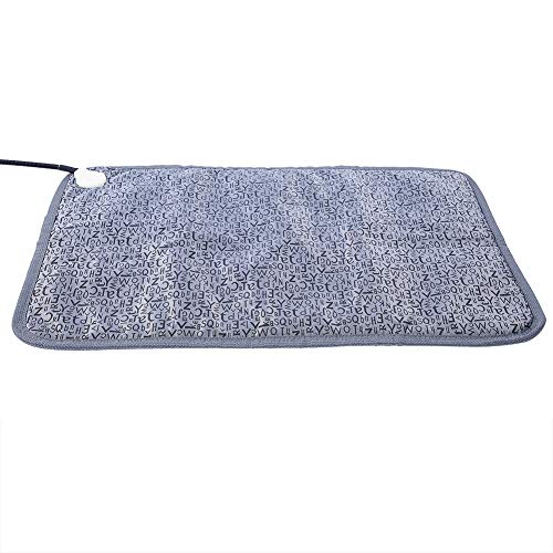 SZHWLKJ Mascota eléctrica calentador de manta climatizada cama de perrera para perros y gatos