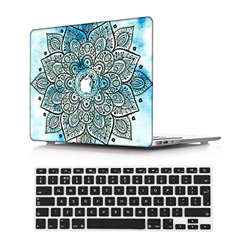 NEWCENT New MacBook Pro 15' Case,Plastic Ultra Slim Light Hard Case UK Keyboard Cover for Mac Pro 15 with Touch Bar 2016-2018 Release (Model:A1707/A1990),National 82