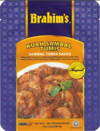 Brahim's サンバルトウミソース  (3〜4人分)3袋